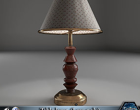 3D model PBR Table lamp