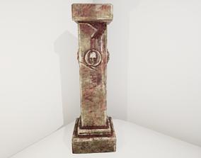 column Ancient Pillar 3D model game-ready
