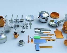 jug 3D kitchen accessories
