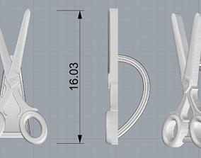 Scissors bail 3D printable model