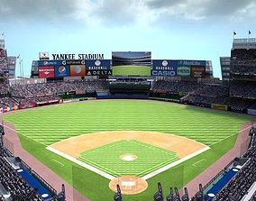 Yankee Stadium NYY Baseball Ground 3D model