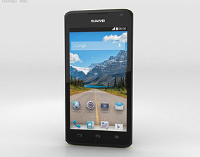 Huawei Ascend Y530 Yellow 3D