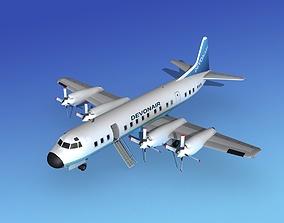 Lockheed L-188 Electra II HP Devonair 3D