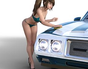 3D print model CAR WASH GIRLS SOAP