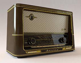 3D model Vintage Radio Graetz Musica