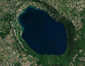 Lake in Italy 3D