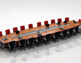 office Conference Table 3D