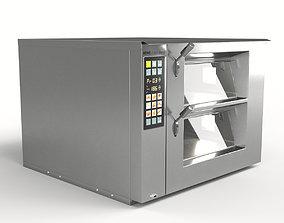 MIWE cube stone deck oven 3D model
