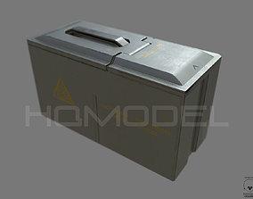 Case Ammo Box PBR Sci-Fi 3D asset