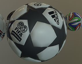 2019 Uefa Champions League Ball 3D model