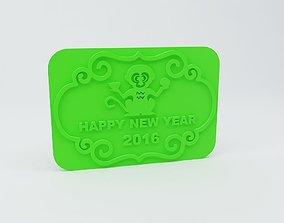 Year of the Monkey 3D print model