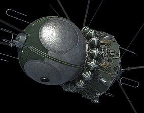 3D model Spacecraft Vostok 1