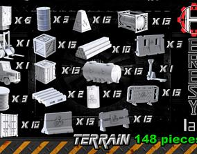 Heresylab - COnstruction Site SciFi Terrain set - 148 1