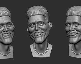 Caricature Of Jim Carrey 3D printable model
