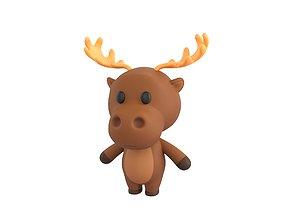 3D model Character034 Moose