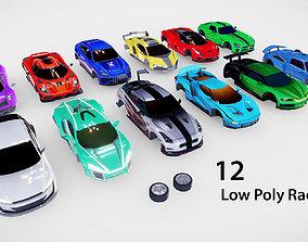 Race Car Pack 3D model