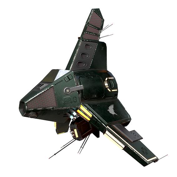 Sci-fi Drone Scout
