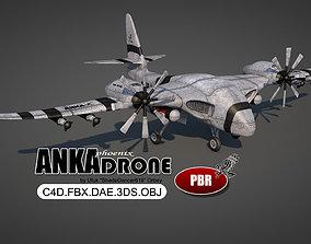3D model Anka Attack Drone