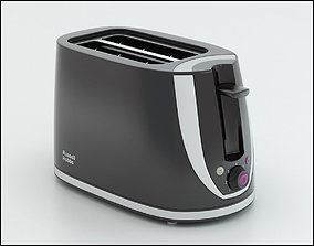 Russell Hobbs toaster 3D