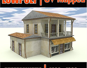 3D house exterior european
