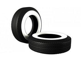 3D Classic Vintage Tire