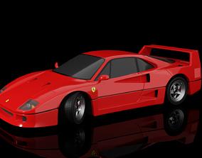 3D Ferrari F40