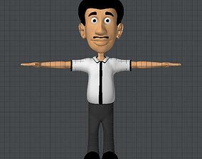 Teacher 3D asset