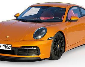 Porsche 911 Carrera S 2019 3D