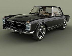Mercedes 280SL 3D model