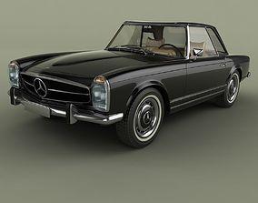 3D model Mercedes 280SL