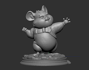 Hammond 3D model for print