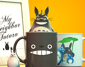 3D print model Totoro and friends