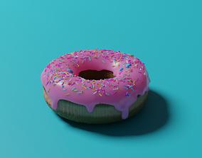 Donut icing 3D model realtime