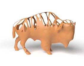 Bison Dust Voronoi 3D model