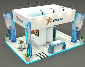 Exhibition Stand Design 3D asset
