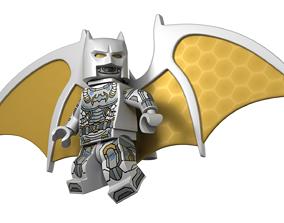 3D model Rigged Lego Batman Space