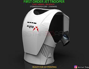 First Order JET TROOPER - Chest Armor 3D printable model 3