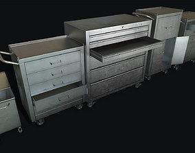 3D model Medical Carts