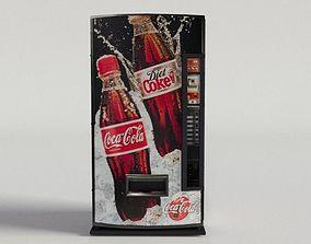 3D model Coca-Cola Vending Machine-02