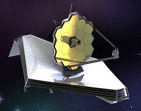 James Webb Space Telescope 3D model
