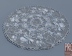 3D tablecloth round