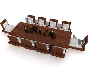 3D Tea table tea