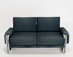 Sofa Two Seater 3D model