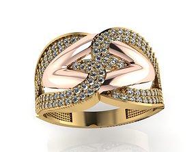 3D print model ring ston 61