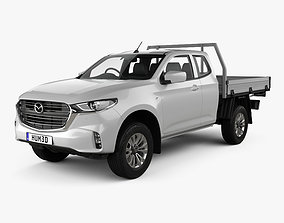 3D Mazda BT-50 Freestyle Cab Alloy Tray 2020