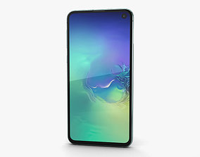3D model Samsung Galaxy S10e Prism Green s10e
