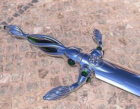 Vorpal Sword replica from alice in 3D printable model
