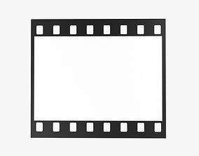 Photographic film mockup 01 3D model