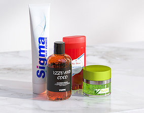 3D Cosmetics kit