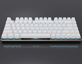 Mechanical Keyboard 82-Key LED 3D